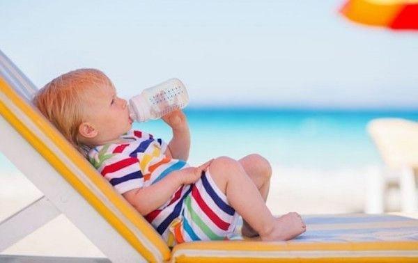 Los cuidados del bebé en el verano