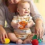 Estimulando al bebé de 9 meses