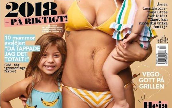 """Por más portadas de revista como ésta y menos cuerpos """"perfectos"""" luego de dar a luz"""