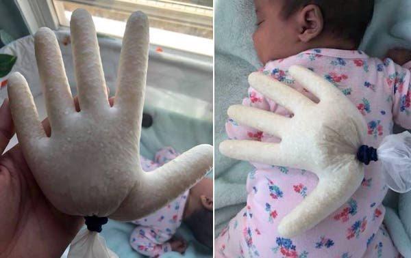 Este truco que compartió una mamá para dormir a su bebé genera polémica en las redes sociales